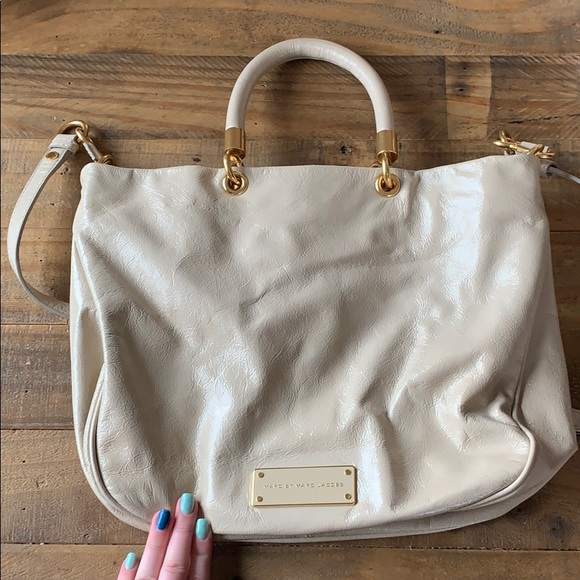 73a37e68abf Marc By Marc Jacobs Bags | Cream Authentic Marc Jacobs Purse | Poshmark